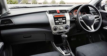 Honda City Interior Front view