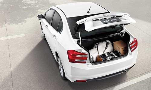 Honda City trunk capacity