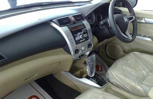 Honda City Interior view