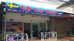 UD Car Rent Office in Udon Thani, Thailand