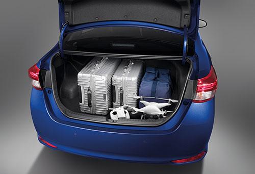 Toyota Ativ luggage view