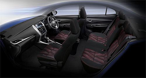 Toyota Ativ Interior view