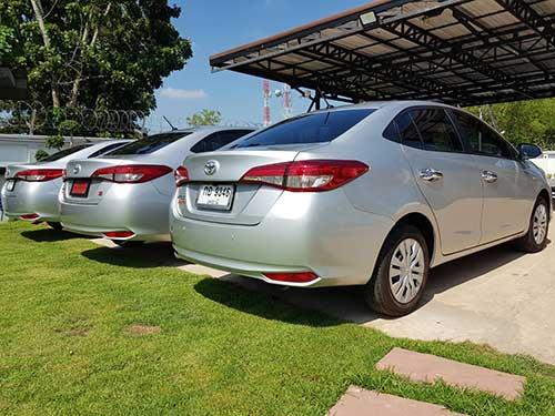 Toyota Ativ rear view