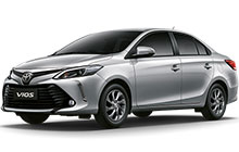 Toyota Vios. New model in 2017 Automatic gear. Top of Range