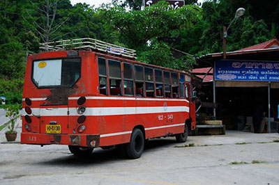 Old bus in Udon Thani