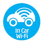 UD Car Rent free wifi in all rental cars