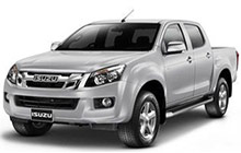 Isuzu Dmax. Double Cab Pickup Truck Manual gear