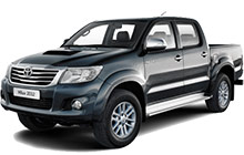 Toyota Hilux Vigo. 2.5 Liter Double Cab Pickup Truck. Manual Gear