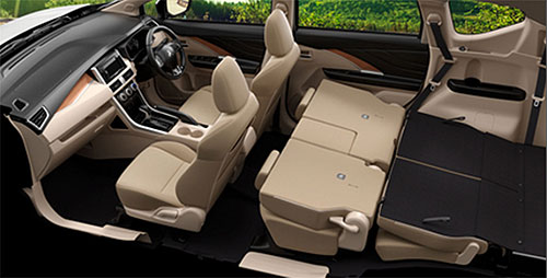 Interior View of Mitsubishi Xpander 2