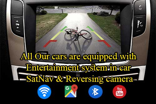 In car entertainment system ud car rent