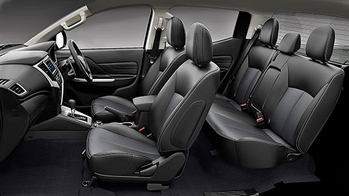 Mitsubishi Triton Interior View