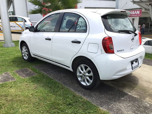 Nissan March exterior view