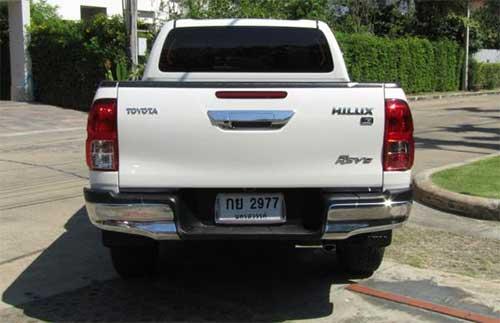 Toyota Hilux Revo Exterior 11