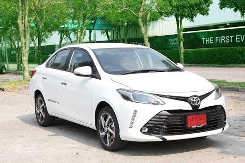 Toyota Vios, exterior 1